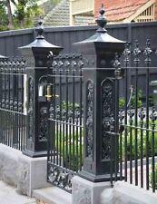 Aluminium Lion Head Decorative Post for Fences
