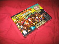 SNES Super Nintendo Donkey Kong Country 2 Diddy's Kong Quest New Factory Sealed