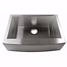 "30"" Stainless Steel Farmhouse Kitchen Sink Single Bowl"