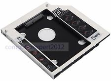 for DELL Inspiron 17 7000 7737 7746 i5 i7 2nd SATA Hard Drive Caddy Optical Bay
