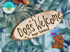 Funny Dog Cat Plaque | Banter Rude Sweary Personalised Wooden Hanging Sign Gift