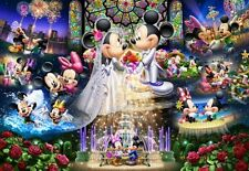 1000 piece jigsaw puzzle Stained Art Disney eternal oath - Wedding ~ Dream