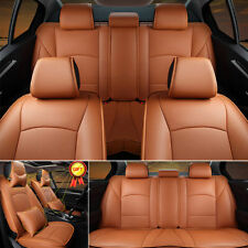 US Full Set PU Leather Car Seat For Ford F-150 2010-2018 Front Rear Cushion