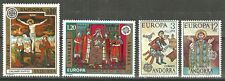 ANDORRA 1975 - 2 MNH Sets of CEPT & EUROPA ART TOPIC Stamps WYSIWYG Lot