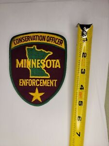 Minnesota Natural Resource Police Patch - Conservation Officer Game Warden DNR