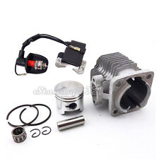 Spark Plug Ignition Coil 44mm Cylinder Piston For 49cc Mini ATV Pocket Dirt Bike