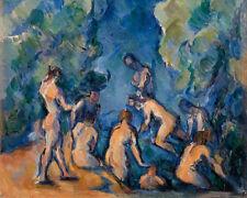 Bathers by Paul Cézanne 60cm x 48cm Art Paper Print