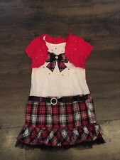 Young Hearts holiday dress size 6x