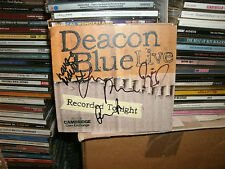DEACON BLUE,LIVE RECORDING,5/11/06,SIGNED BY ALL FOUR MEMBERS