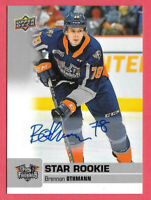 2019-20 Brennan Othmann Upper Deck CHL Star Rookie Auto - Flint Firebirds