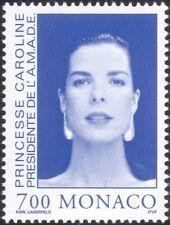 Mónaco 1995 princesa Caroline/Caridad/Royal/realeza/personas/Retratos 1v (n45766)