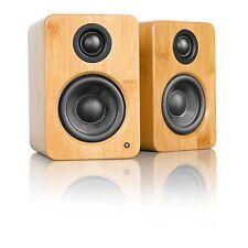 Kanto YU2 2.0 Speaker System - 50 W RMS - Desktop - Bamboo (yu2bamboo)