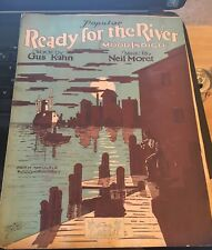 Vintage Sheet Music- Ready for the River, ( Mood Indigo) 1928