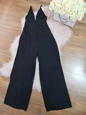 Noughts & Crosses Ladies Size 10 Jumpsuit Spaghetti Strap Black