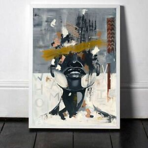 Canvas Painting African American Art Identity Crisis Posters Prints Wall Picture