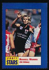 1991 Footy Stars Russell Morris St Kilda Sticker Saints