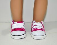 Fits Our Generation American Girl Journey 18 Dolls Hot Pink Runners Sneakers