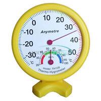 MIni Indoor Wet Hygrometer Humidity Thermometer Temp Temperature Meter TH108