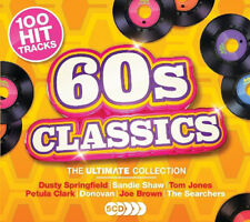 Various Artists : 60s Classics: The Ultimate Collection CD Box Set 5 discs
