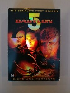 Babylon 5 seasons 1-5, plus movies - Used - individual box sets