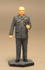 Painted Tin Toy Soldier Winston Churchill 54mm 1/32