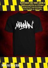 T-Shirt - MADMAN - GEMITAIZ MM GHALI SFERA SALMO NO CD RAP HIP HOP TRAP TEDUA