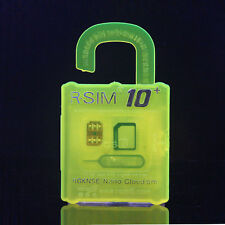 R SIM10+ For iPhone 6S&6&5&4S Ios9.X&8.X&7.X  General Nano Cloud Unlock Card