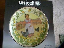 "Unicef Collectors Plate ""Our Children, TIBET"" Villeroy designed by K.Blume NIB"