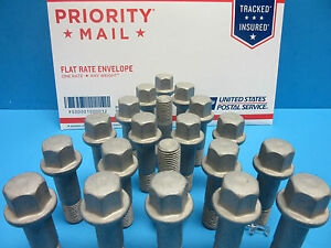 20 Wheel Bolts Replace Mercedes OEM # 0009905307 Made in Germany