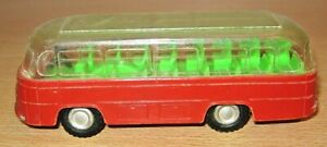 Plastic MERCEDES Coach by 'CM' - made in Hong Kong no.401