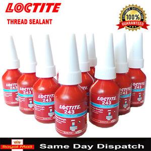 LOCTITE 242|603|243|542|638|262|641|648|680 660 RETAINER 10ml thread lock uk top