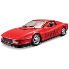 Coche de carreras de automodelismo y aeromodelismo Burago Ferrari