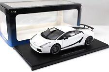 1:18 Autoart Lamborghini Gallardo Superleggera White New en Premium-modelcars