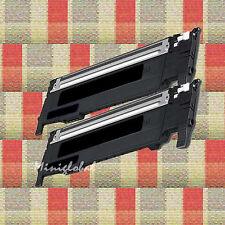2PK For Samsung  CLT-K407S  BLACK TONER CLP-320CLP-325 CLX-3185 NEW
