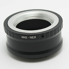 M42 Mount lens to Sony NEX7 NEX6 NEX5R NEX5N NEX3 NEX5 Adapter Ring High Quality