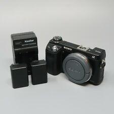 Sony Alpha NEX-6 16.1MP Digital Camera - Black (Body Only) - 14K Clicks