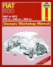 Fiat 500 1957 - 1973 Haynes Manual 0090 NEW