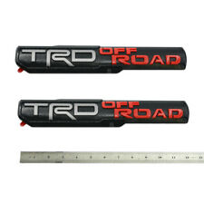 1 TRD Sport Emblem 3d Logo for Toyota Tacoma Badge Black Red