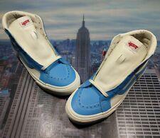 Vans Sk8 Hi Reissue Vault Leather Bonnie Blue/Marshmallow Size 9.5 VA0A4BVHXG0