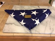 5' X 9 1/2 ' BEST COTTON BUNTING AMERICAN  FLAG  VETERAN  by Phoenix (GC20)