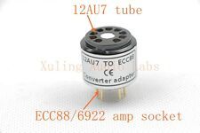 1pc Gold plated 12AU7 12AT7 ECC82 TO ECC88 6922 6DJ8 Tube converter adapter