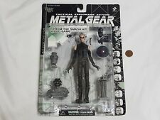 NEW Metal Gear Solid PSYCHO MANTIS Action Figure SEALED Mcfarlane Konami Toy '98