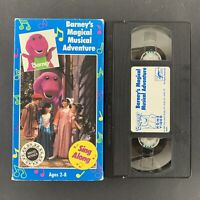 Barney - Barneys Magical Musical Adventure - VHS Tape