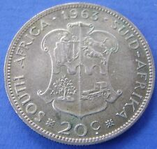 Zuid Afrika - South Africa 20 cents 1963 Silver KM# 61