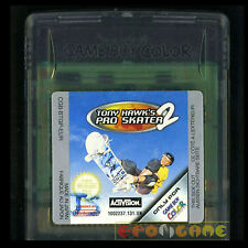 TONY HAWK'S PRO SKATER 2 Game Boy Color  Versione Europea ••••• SOLO CARTUCCIA