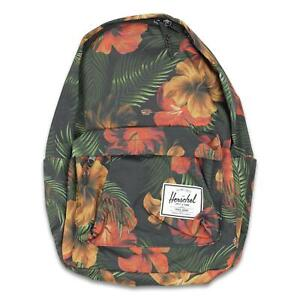Herschel Classic XL 30L Backpack Tropical Hibiscus One Size New