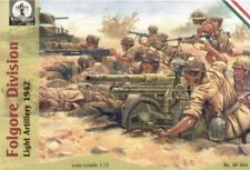 Waterloo 1/72 2nd guerre mondiale Italien Folgore Division clair Artillerie #