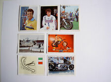 #261 Flash Collection Motorbikes 1982 stickers unused