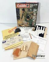 COLDITZ ESCAPE KIT 1970s World War 2 POW Prisoners Castle Parker Palitoy 70s