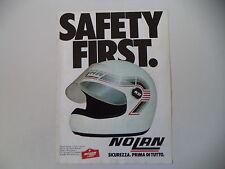 advertising Pubblicità 1982 CASCO HELMET NOLAN N 32